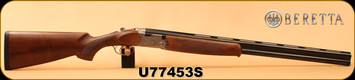 "Beretta - 12Ga/3""/28"" - Model 686 Silver Pigeon I - O/U - Walnut Stock/scroll-engraved receiver/Blued Barrels, 6x6Rib, Mfg# J6863J8"