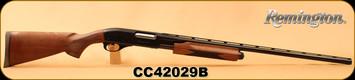 "Remington - 20Ga/3""/28"" - 870 Wingmaster Lightweight - Pump Action Shotgun - American Walnut Stock/Gloss Blued, Vent Rib Barrel, 4 Rounds, Mfg# 26947, S/N CC42029B"