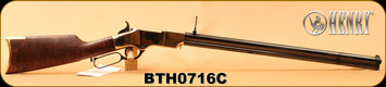 "Henry - 45Colt - New Original - Lever Action Rifle - Fancy American Walnut Stock/Polished Brass Receiver/Blued, 24.5""Octagonal Barrel, 13 Rounds, Mfg# H011C, S/N BTH0716C"