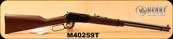 "Henry - 22Mag - Magnum Octagon Model - Lever Action Rimfire Rifle - American Walnut Stock/Blued Finish, 20"" Octagon Barrel, 12 Rounds, Mfg# H001TM, S/N M40259T"