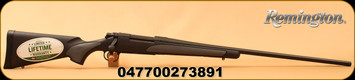 "Remington - 300RUM - Model 700 SPS - Bolt Action Rifle - Black w/Grey Synthetic/Matte Blued, 26""Barrel, 3 Rounds, Mfg# 27389"