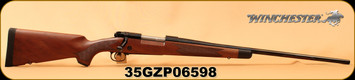 "Winchester - 270Win - Model 70 Super Grade - Bolt Action Rifle - Grade IV/V walnut, ebony forearm tip/Polished Blued, 24""  Free-Floated Barrel, jeweled bolt body, 5 Rounds,Mfg# 535203226, S/N 35GZP06598"