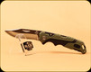 Buck Knives - Pursuit - Nail Notch - Molded Handle - Black/Green - 3661GRS