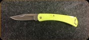 Buck Knives - Slim Hunter - Nail Notch - Chartreuse - 3110GRS1