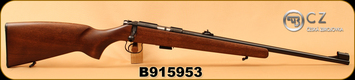"CZ - 22LR - 455 Standard - Rimfire Rifle - Beech Wood Stock/Blued, 20.7""Barrel, S/N B915953"