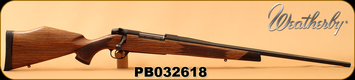 "Used - Weatherby - 7mmRemMag - Mark V Euromark - Select Claro Walnut w/Ebony Forend Tip & Pistol Grip Cap/Blued, 24""Barrel"