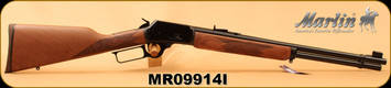 "Marlin - 44RemMag/44S&WSpl - Model 1894 - Lever-Action Rifle - Black Walnut Stock/Blued, 20"" Barrel, 10 Rounds, Mfg# 70400, S/N MR09914I"