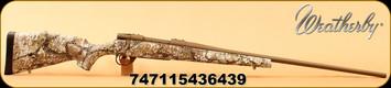 """Weatherby - 25-06Rem - Vanguard Badlands - Badlands Approach Camo/Burnt Bronze Cerakote, 24""""Barrel, #2 Contour, 1:10"""", Mfg# VAP256RR4O"""