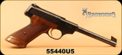 "Consign - Browning - 22LR - Challenger - Wood Grips/Blued, 6.75""Barrel - Made in Belgium, S/N 55440O5"