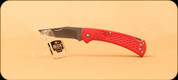 Buck Knives - Slim Ranger - Nail Notch - Red - 3112RDS2