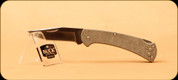 Buck Knives - Slim Ranger - Nail Notch - Pro Olive Drab Green Canvas Micarta - 31120DS6