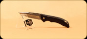 Buck Knives - Bantam BBW - Small Lockback - Nail Notch - Black Plastic - 3284BKS