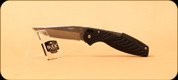 Buck Knives - Rival II - Medium Lockback - Nail Notch - Black Plastic - 3365BKS