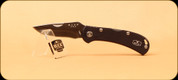 Buck Knives - Spitfire - Nail Notch - Anodized Aluminum Black Handle w/Red liner - 3722BKS2
