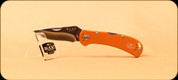 Buck Knives - Spitfire - Nail Notch - Anodized Aluminum Orange Handle w/Grey Liner - 3722ORS2