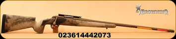 "Browning - 6.5Creedmoor - X-Bolt Hell's Canyon Long Range - Bolt Action Rifle - McMillian Stock A-TACS AU Camo/Burnt Bronze, 26"" Barrel, 4 Rounds, Mfg# 035395282"