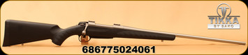 """Sako - 300WinMag - A7 Soft Touch Synthetic Stainless - Bolt Action Rifle - Black Synthetic w/Soft Touch Surfaces/Stainless Steel, 24.4""""Barrel, single-stage adjustable trigger, Mfg# JRA7S31"""