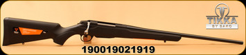 "Tikka - 22-250Rem - T3x Lite - Bolt Action Rifle - Black Modular Synthetic Stock/Blued, 22.4""Barrel, Mfg# TF1T13LL103"