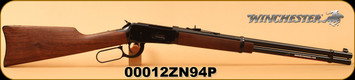 "Winchester - 25-35Win - Model 1894 Carbine - Lever Action Rifle -Walnut Stock/Blued Finish, 20"" Barrel 7 Rounds, S/N 00012ZN94P"