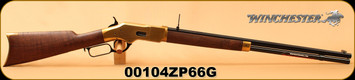 "Winchester - 38Spl - Model 1866 Deluxe Octagon - Lever Action - Grade V/VI Walnut/Brass Receiver/Blued, 24""Octagonal Barrel, Button Rifled, Mfg# 534258188, S/N 00104ZP66G"