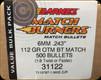 Barnes - 6mm - 112 Gr - Match Burner - Open Tip Match Boat Tail - 500ct - 31122
