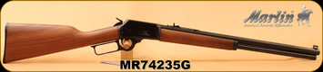"Marlin - 45Colt - Model 1894CB45 - Cowboy Lever Action - American black walnut straight-grip stock/Polished Blued, 20""Tapered Octagonal Barrel, Mfg# 70444, S/N MR74235G"