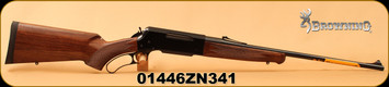 "Browning - 270Win - BLR Lightweight with Pistol Grip - Lever Action Rifle - Gloss Black Walnut Pistol-Grip Stock/Polished Blued, 22""Barrel, Detachable Box Magazine, Mfg# 034009124, S/N 01446ZN341"