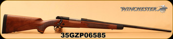 "Winchester - 270Win - Model 70 Super Grade - Bolt Action Rifle - Grade IV/V walnut, ebony forearm tip/Polished Blued, 24""  Free-Floated Barrel, jeweled bolt body, 5 Rounds,Mfg# 535203226, S/N 35GZP06585"