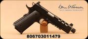 "Dan Wesson - 9mm - Discretion Semi-Auto Pistol - G10 Grip - 5.75"" - Night Sight - Light Rails - Black - 10rd - Mfg# 1886"