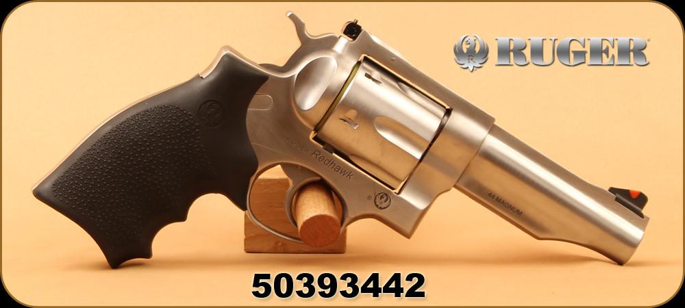 Ruger - 44RemMag - Redhawk - Revolver - Hogue Rubber Grips/Satin
