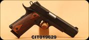 "Citadel - 45ACP - 1911-A1 Full Size - Semi Automatic Handgun - Checkered Wood Grips/Blued Finish, 5"" Barrel, Mfg# CIT45FSP - Unfired Showroom model"