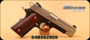"""SIG Sauer - 45ACP - 1911 C3 - Semi Automatic Pistol - Rosewood Grips/Stainless Finish, 4.2"""" Barrel, Mfg# 1911CO-45-T-C3 - Unfired Showroom model"""