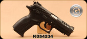 "Grand Power - 9mm - K100 X-Trim - Black Synthetic/Blued, 4.3""Barrel, 4 Interchangable Grips, 2 Mags - Unfired, Showroom Model"