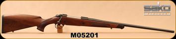 "Sako - 7mmRemMag - 85L Bavarian - Bolt Action Rifle - Bavarian Style High Grade Walnut Stock w/Palm Swell/Matte Blued, 24-3/8""Light Hunting Contour, 4rds, 1:9.5""Twist, Single Set Trigger, Mfg# JRS3C70, S/N M05201"