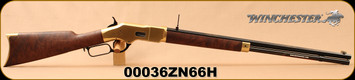 "Winchester - 45Colt - Model 1866 Deluxe Octagon - Lever Action - Grade V/VI Walnut/Brass Receiver/Blued, 24""Octagonal Barrel, Button Rifled, Mfg# 534258141, S/N 00036ZN66H"