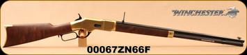 "Winchester - 44-40Win - Model 1866 Deluxe Octagon - Lever Action - Grade V/VI Walnut/Brass Receiver/Blued, 24""Octagonal Barrel, Button Rifled, Mfg# 534258140, S/N 00067ZN66F"