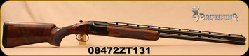 "Used - Browning - 12Ga/3""/30"" - Citori CX - O/U Shotgun - Gloss Finish Black Walnut/Polished Blued, Invector-Plus Midas Chokes, Low Round Count - In original box"
