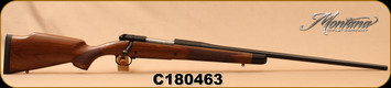 "Montana Rifle Company - 7mmRemMag - American Legends Rifle (ALR) - AA Grade American Black Walnut/Chromoly blued steel, 24"", #2D Contour Barrel, recessed crown, 1:9.5""Twist, S/N C180463"