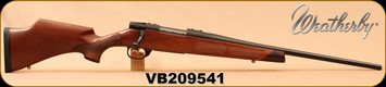 "Weatherby - 7mm-08Rem - Vanguard Camilla - Bolt Action Rifle - Grade A Turkish Walnut Stock w/Rosewood Forend & Grip Caps/Matte Bead Blasted Blued Finish, 20"" Barrel, Hinged Floorplate, Mfg# VWR7M8RR0O, S/N VB209541"