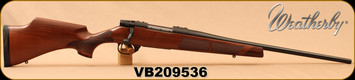 "Weatherby - 7mm-08Rem - Vanguard Camilla - Bolt Action Rifle - Grade A Turkish Walnut Stock w/Rosewood Forend & Grip Caps/Matte Bead Blasted Blued Finish, 20"" Barrel, Hinged Floorplate, Mfg# VWR7M8RR0O, S/N VB209536"