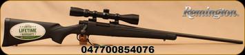 "Remington - 308Win - 700 ADL Bolt Action Rifle Combo w/3-9x40 Scope - Black Syn - 24"" - Mfg# 85407"