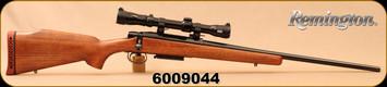 "Consign - Remington - 308Win - Model 788 - Walnut/Blued, 21.5""Barrel, c/w 1"" Quick Detach Rings, Redfield Lo-Pro, duplex reticle"