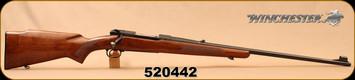 "Consign - Winchester - 264WinMag - Model 70 Westerner - Walnut/Blued, 26""Barrel, Hinged Floorplate, Pre-'64, original butt plate"