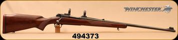 "Consign - Winchester - 338WinMag - Model 70 Alaskan - Walnut/Blued, 25""Barrel, Hinged Floorplate, Pre-'64, original recoil pad, c/w 1""rings"