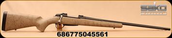 "Sako - 308Win - A7 Roughtech Pro - Bolt Action Rifle - Desert Tan w/Black Web w/Fully Integrated Aluminium Bedding/Blued Steel, 24.4""Cold Hammer Forged Medium Contour Fluted Barrel, 3rd detachable magazine, 2-4lb Adjustable Trigger, Mfg# SEV29GL10"