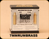 Consign - Nosler - 7mmRUM - Unprimed Brass - 25 Count - Mfg# 10188 - New, sealed in box