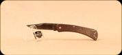 Buck Knives - Slim Hunter - Nail Notch - Pro Brown Canvas Micarta Handle - 3110BRS4