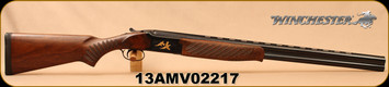 """Consign - Winchester - 12Ga/3""""/28"""" - Select Midnight Field - Over/Under Shotgun - Satin-Finished Grade II/III Walnut Stock/Gold Accented Engraved Receiver/High-Gloss Blued Barrel - FN Belgium Made - In original case"""