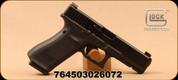 "Glock - 9mm - 17 Gen 5 - Semi-Auto Pistol - Matte Black nDLC Finish/Modular Backstrap, 4.49""Glock Marksman Barrel, Ameriglo Bold Night Sights, Flared Magwell, (3) 10rd Magazines, Mfg# UA1750301AB"