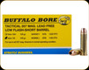 Buffalo Bore - 357 Mag - 140 Gr - Tactical Short Barrel Lower Recoil Low Flash - Barnes XPB Lead Free Hollow Point - 20ct - 19I